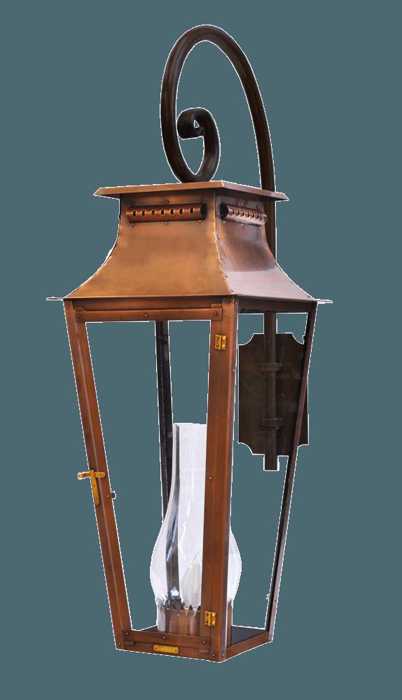 Copper Outdoor Lighting Bevolo Gas, Copper Outdoor Lighting Fixtures