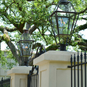 New Orleans Gas Lanterns